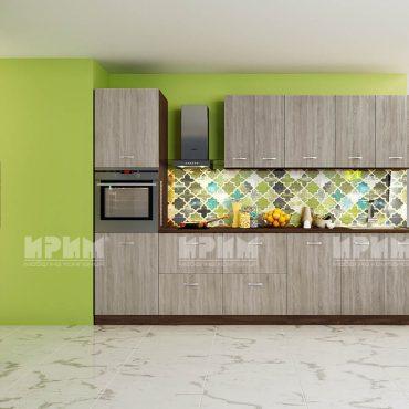 Модулни кухни CITY - Сонома тъмна / Венге 316